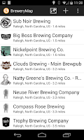 Screenshot of BreweryMap #1 Beer Finding App