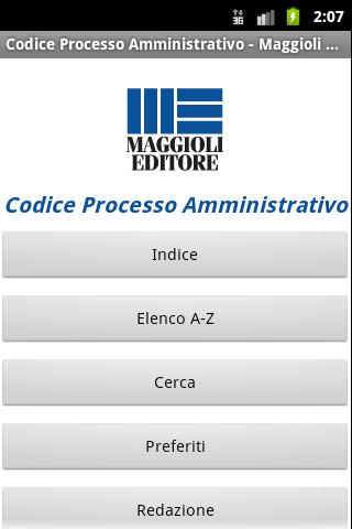 Codice Processo Amministrativo
