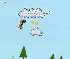 Screenshot of Hill Racing Endless
