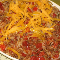 Hamburger-Rice Skillet