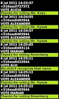Screenshot of SMS2WEB