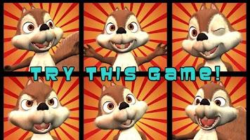 Screenshot of Nut Flow - Funny Squirrel Feed
