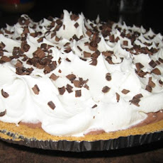 Chocolate Sour Cream Pie