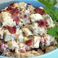 Potato Salad With Chipotle Peppers(A Man's Salad)