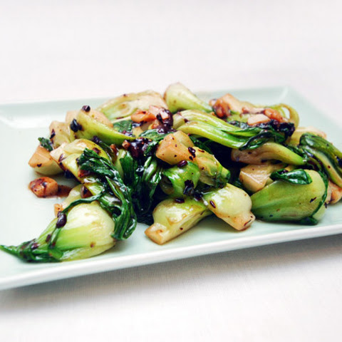 Shanghai Baby Bok Choy With Black Bean Sauce