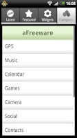 Screenshot of aFreeware