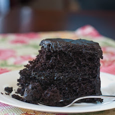 Nanny's Black Midnight Cake
