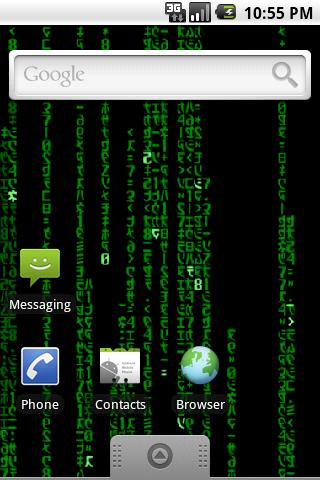 MatrixMania Live Wallpaper