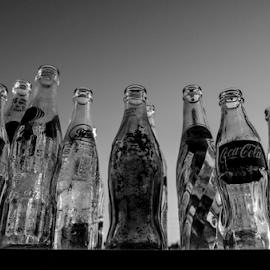 old bottles by David Ubach - Artistic Objects Glass ( old, old antique, vintage, glass, bottles, soft drink )