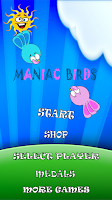 Screenshot of Maniac Birds