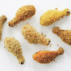 Crunchy Oven-Fried Drumsticks Recipe