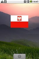 Screenshot of Polish Flag Widget