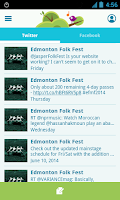 Screenshot of Edmonton Folk Music Festival