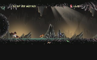 Screenshot of Crystal Runner