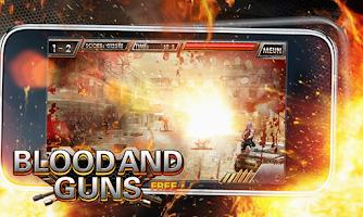 Screenshot of Blood and Guns free