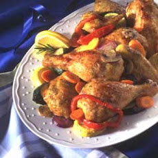Oven-roasted Chicken & Vegetables