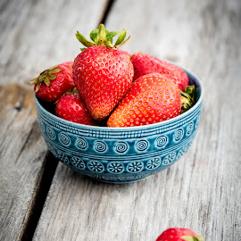 Strawberries by Andre Lindo - Food & Drink Fruits & Vegetables (  )