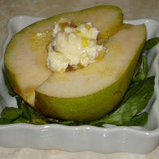 Pear Salad With Cream Cheese and Lime Gelatin