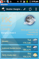 Screenshot of My Weather