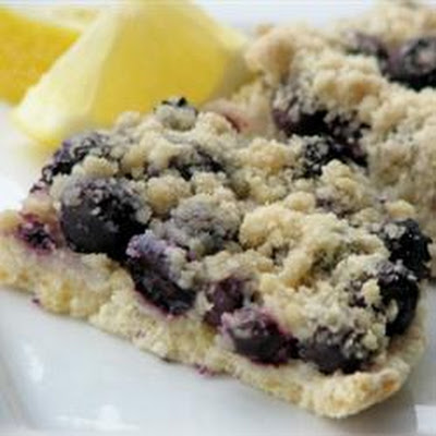 Blueberry Lemon Slices