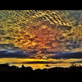 Colors of the clouds by Zeralda La Grange - Instagram & Mobile iPhone