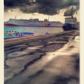 Καλημερα σας by Nikolas Bikakis - Transportation Boats