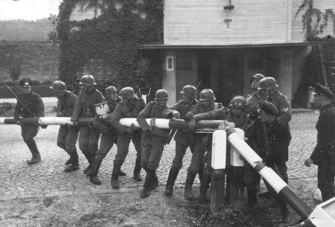 On September 1, 1939, war broke out. At 5 a.m. German planes bombed the barracks at Oświęcim where Karski's unit was stationed. A few hours later, the second lieutenant and his battalion were retreating to the East.