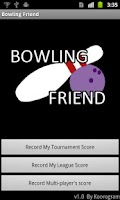 Screenshot of Bowling Friend : Score Keeper