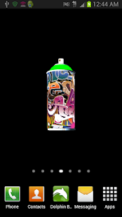 3D Graffiti Spraycan lwp - screenshot