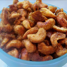 Indian-Spiced Cashews