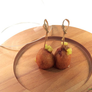 Gourmet Corn Dogs from Herons Restaurant, North Carolina