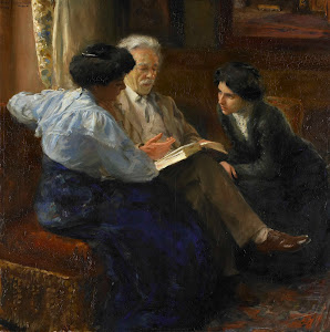 RIJKS: Bramine Hubrecht: painting 1909