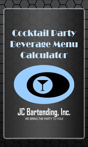 Cocktail Party Beverage Calc