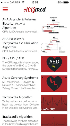 ACLS med - screenshot