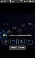 Screenshot of TRMP Random Music Player