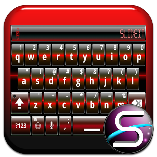 SlideIT Red Digital Skin