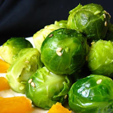 Orange-Buttered Brussels Sprouts