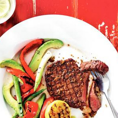 Cajunsteak Met Avocado
