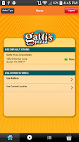 Screenshot of Gattis Pizza