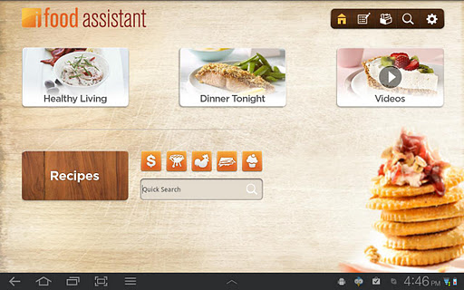 iFood Assistant Tablet