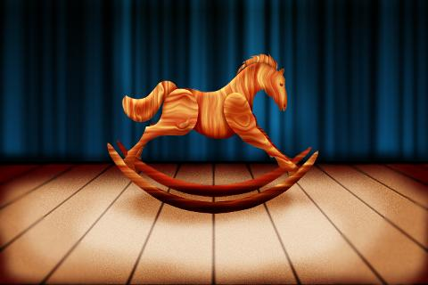 Rocking Horse Live Wallpaper