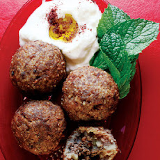 Kibbeh (Beef and Bulgur Wheat Meatballs)