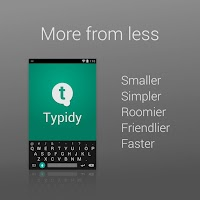 Screenshot of Typidy Keyboard