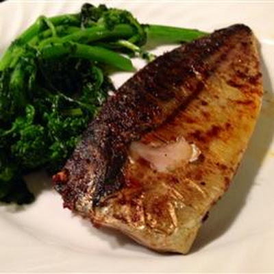 Broiled Spanish Mackerel