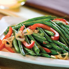 Green Bean-and-Red Bell Pepper Toss
