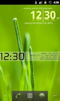 Screenshot of Advanced Clock Widget