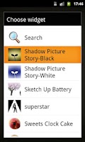 Screenshot of Shadow picture story