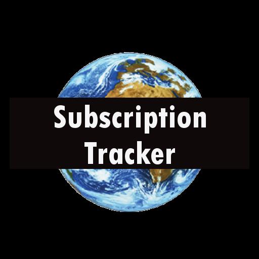 Subscription Tracker LOGO-APP點子