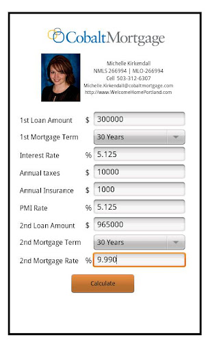 Michelle Kirkendall's Mortgage