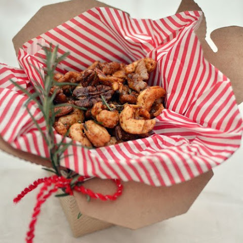 Ina Garten's Chipotle & Rosemary Spiced Nuts